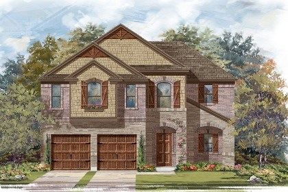 New Homes in Pflugerville, TX - Plan A-2183 C