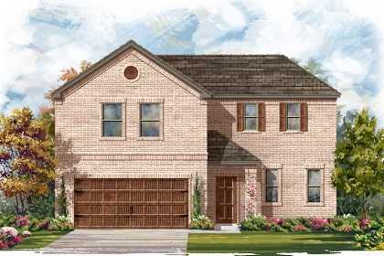 New Homes in Pflugerville, TX - Plan A-2502 A