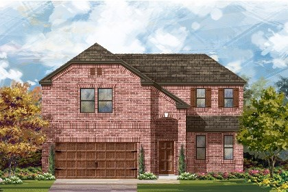 New Homes in Pflugerville, TX - Plan A-2502 B