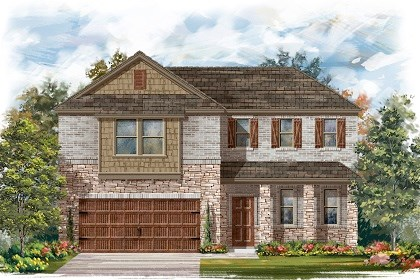 New Homes in Pflugerville, TX - Plan A-2502 C