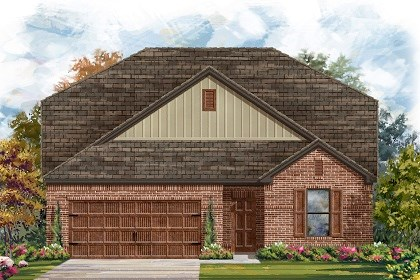 New Homes in Pflugerville, TX - Plan A-2655 A
