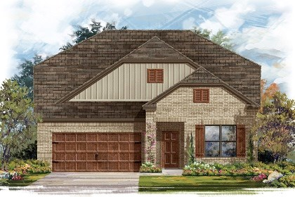 New Homes in Pflugerville, TX - Plan A-2655 B