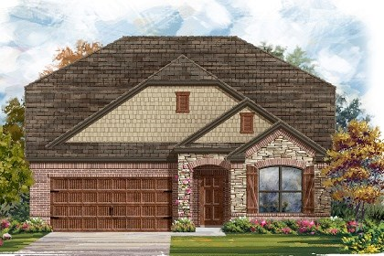 New Homes in Pflugerville, TX - Plan A-2655 C