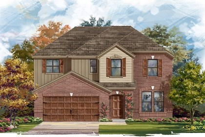 New Homes in Pflugerville, TX - Plan A-2797 A
