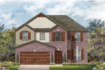 New Homes in Pflugerville, TX - Plan A-2797 B