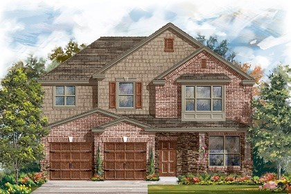 New Homes in Pflugerville, TX - Plan A-2797 C
