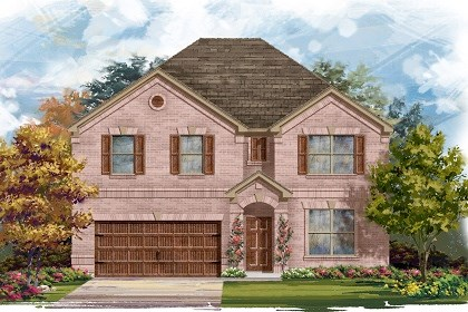 New Homes in Pflugerville, TX - Plan A-3125 A