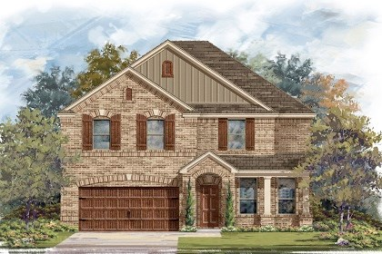 New Homes in Pflugerville, TX - Plan A-3125 B
