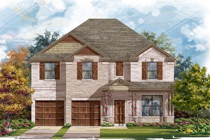 New Homes in Pflugerville, TX - Plan A-3125 C