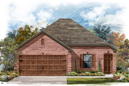 New Homes in Pflugerville, TX - Plan E-1516 B