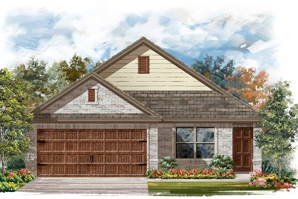 New Homes in Pflugerville, TX - Plan E-1516 C