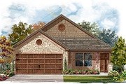 New Homes in Pflugerville, TX - Plan E - 1516