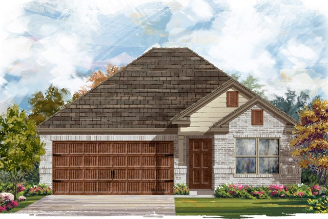 New Homes in Pflugerville, TX - Plan E-1591 I