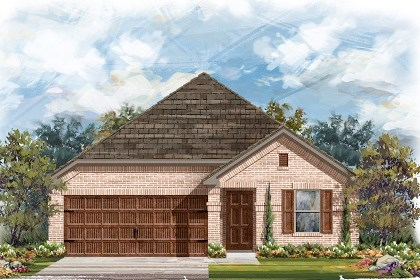 New Homes in Pflugerville, TX - Plan E-1647 H