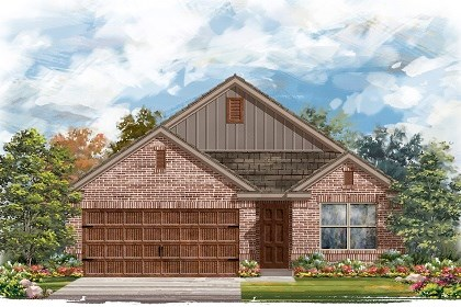 New Homes in Pflugerville, TX - Plan E-1647 I