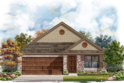 New Homes in Pflugerville, TX - Plan E-1647 J