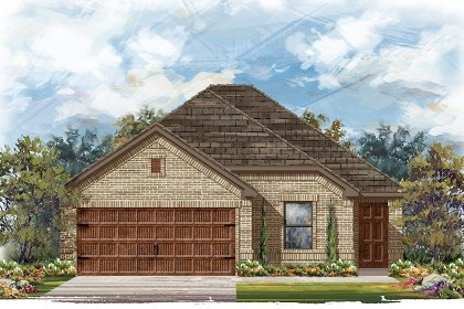 New Homes in Pflugerville, TX - Plan E-1694 H