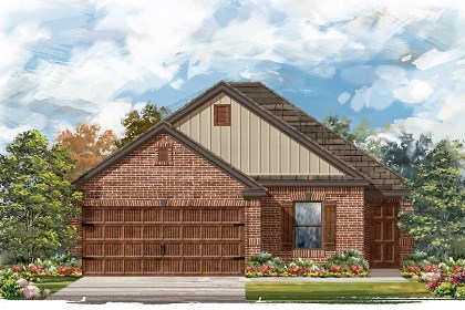 New Homes in Pflugerville, TX - Plan E-1694 I