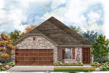 New Homes in Pflugerville, TX - Plan E-1694 J
