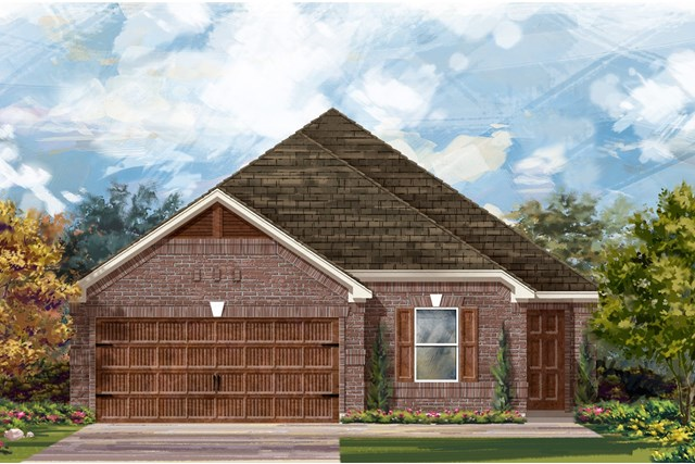New Homes in Pflugerville, TX - Plan E-1892 H