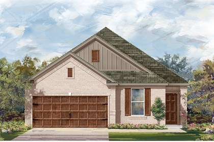 New Homes in Pflugerville, TX - Plan E-1892 I