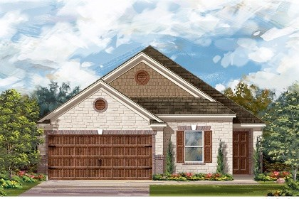 New Homes in Pflugerville, TX - Plan E-1892 J