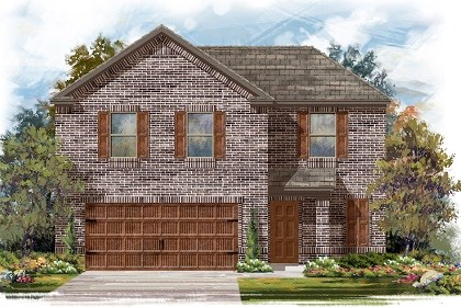 New Homes in Pflugerville, TX - Plan E-1895 H