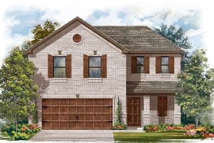 New Homes in Pflugerville, TX - Plan E-1895 I