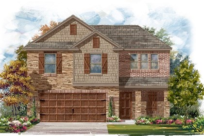 New Homes in Pflugerville, TX - Plan E-1895 J