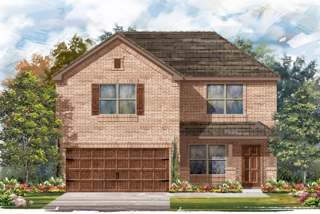 New Homes in Pflugerville, TX - Plan E-2177 I