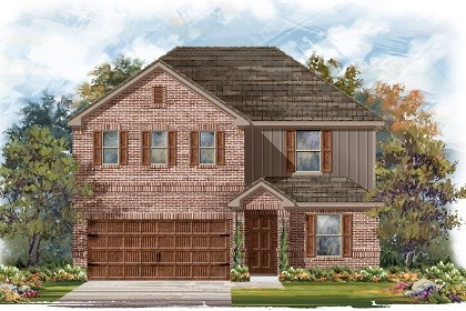 New Homes in Pflugerville, TX - Plan E-2403 H