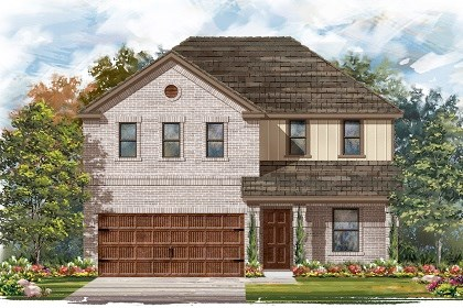 New Homes in Pflugerville, TX - Plan E-2403 I