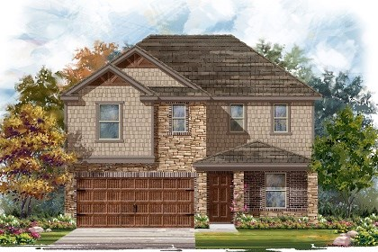New Homes in Pflugerville, TX - Plan E-2403 J