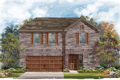 New Homes in Pflugerville, TX - Plan E - 2412 H