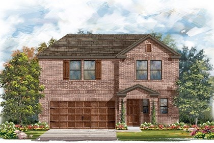 New Homes in Pflugerville, TX - Plan E-2412 I