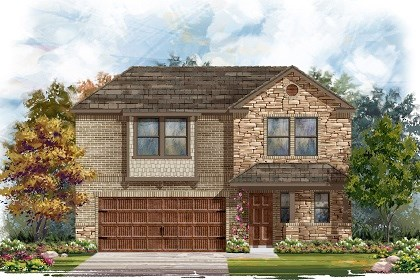 New Homes in Pflugerville, TX - Plan E - 2412 J