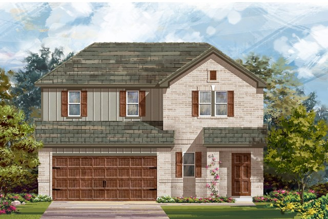 New Homes in Pflugerville, TX - Plan E-2516 H