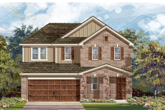 New Homes in Pflugerville, TX - Plan E-2516 I