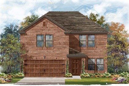 New Homes in Pflugerville, TX - Plan E-2561 H