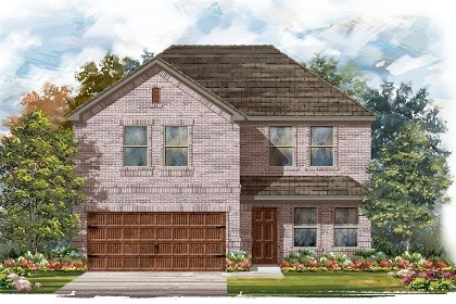 New Homes in Pflugerville, TX - Plan E-2561 I