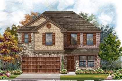New Homes in Pflugerville, TX - Plan E-2561 J