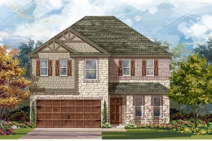 New Homes in Pflugerville, TX - Plan E-2898 J
