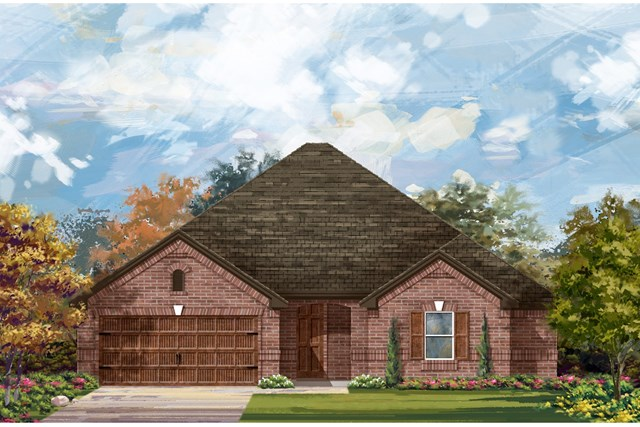 New Homes in Round Rock, TX - Plan L-2325 1