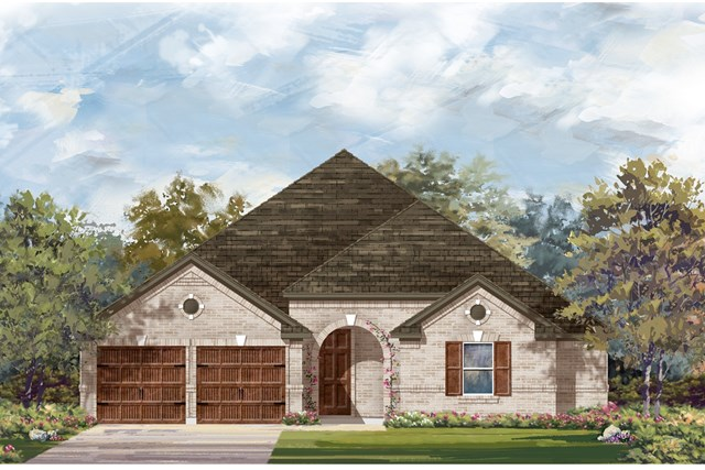 New Homes in Round Rock, TX - Plan L-2325 2