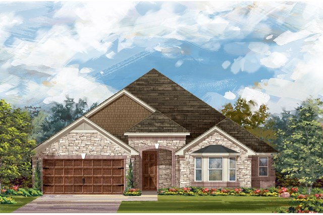 New Homes in Round Rock, TX - Plan L-2325 3