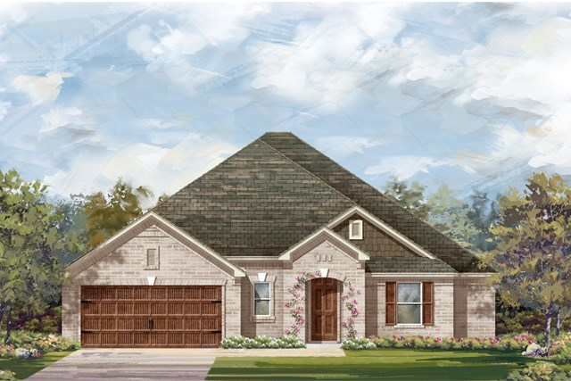 New Homes in Round Rock, TX - Plan L-2663 1