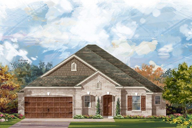 New Homes in Round Rock, TX - Plan L-2663 2