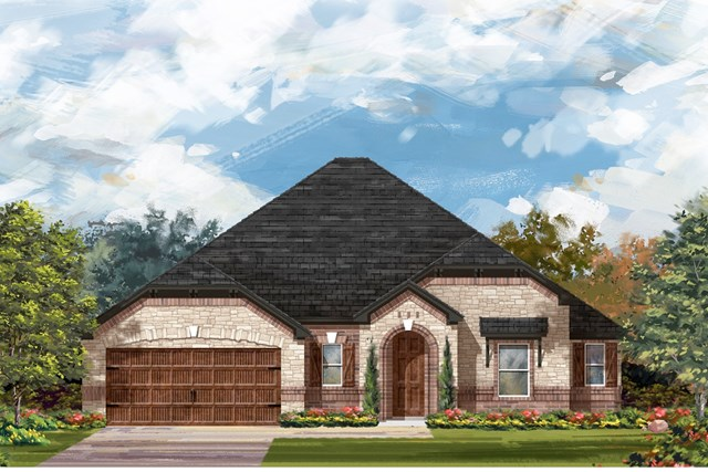 New Homes in Round Rock, TX - Plan L-2663 3