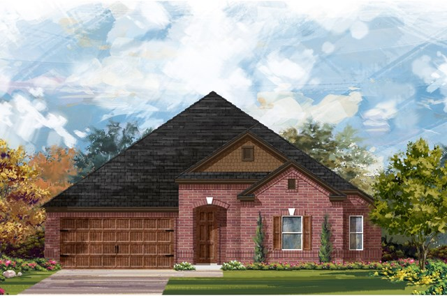 New Homes in Round Rock, TX - Plan L-2858 1