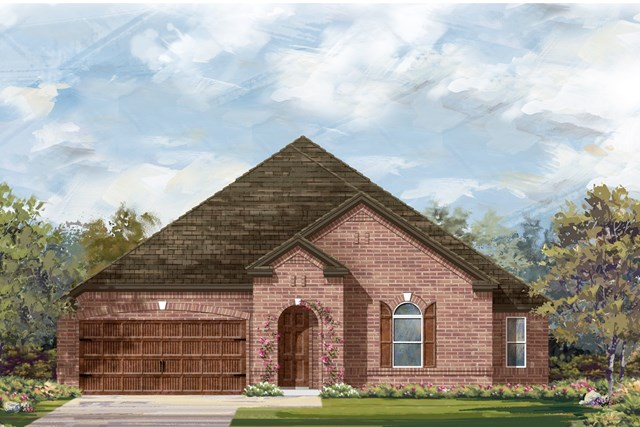 New Homes in Round Rock, TX - Plan L-2858 2